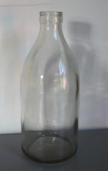 Mjölkflaska 1 liter Klar